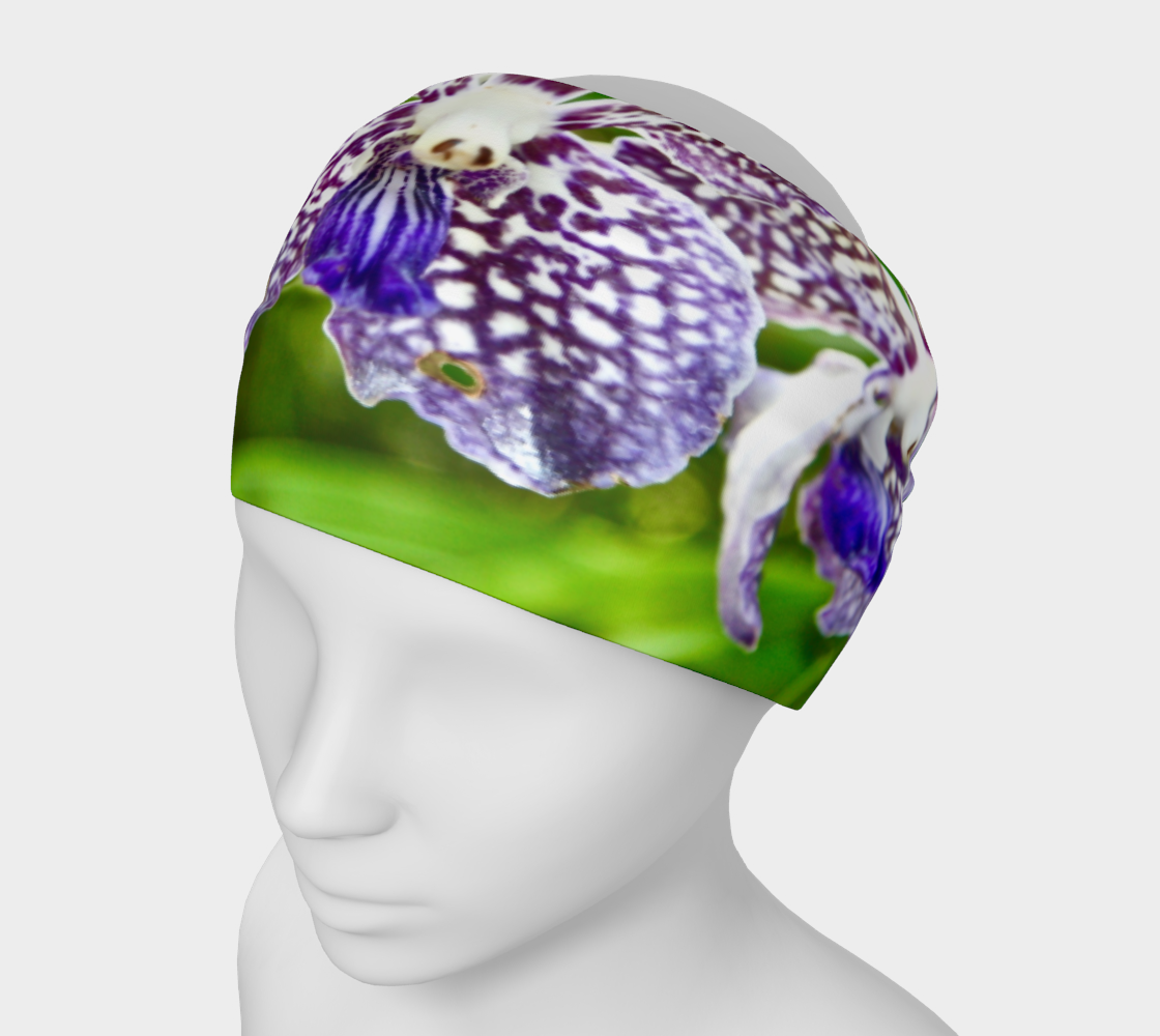 Orchid Garden 2 Headband & Face Covering preview