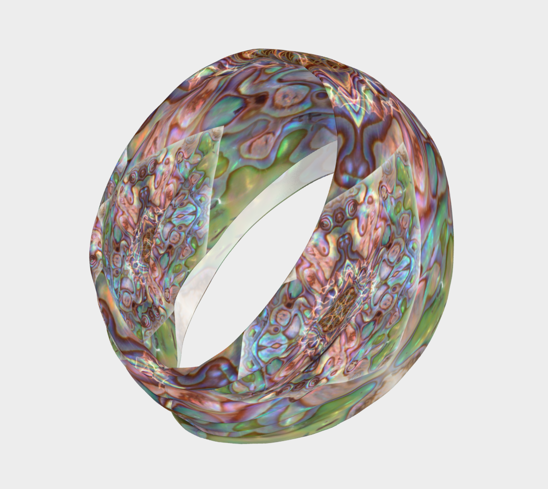 Sea Opal 4 Neckband and Face Covering preview #2