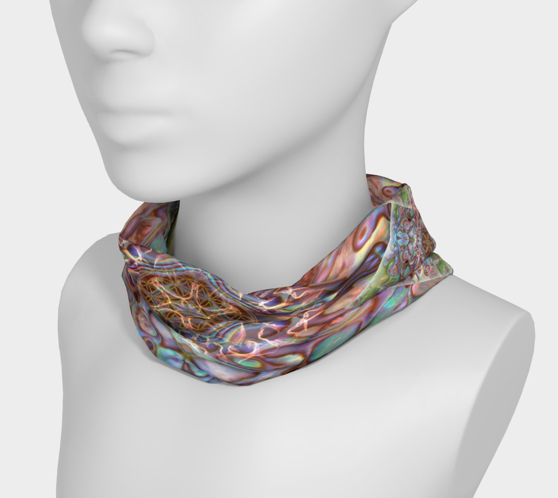 Sea Opal 4 Neckband and Face Covering preview #3