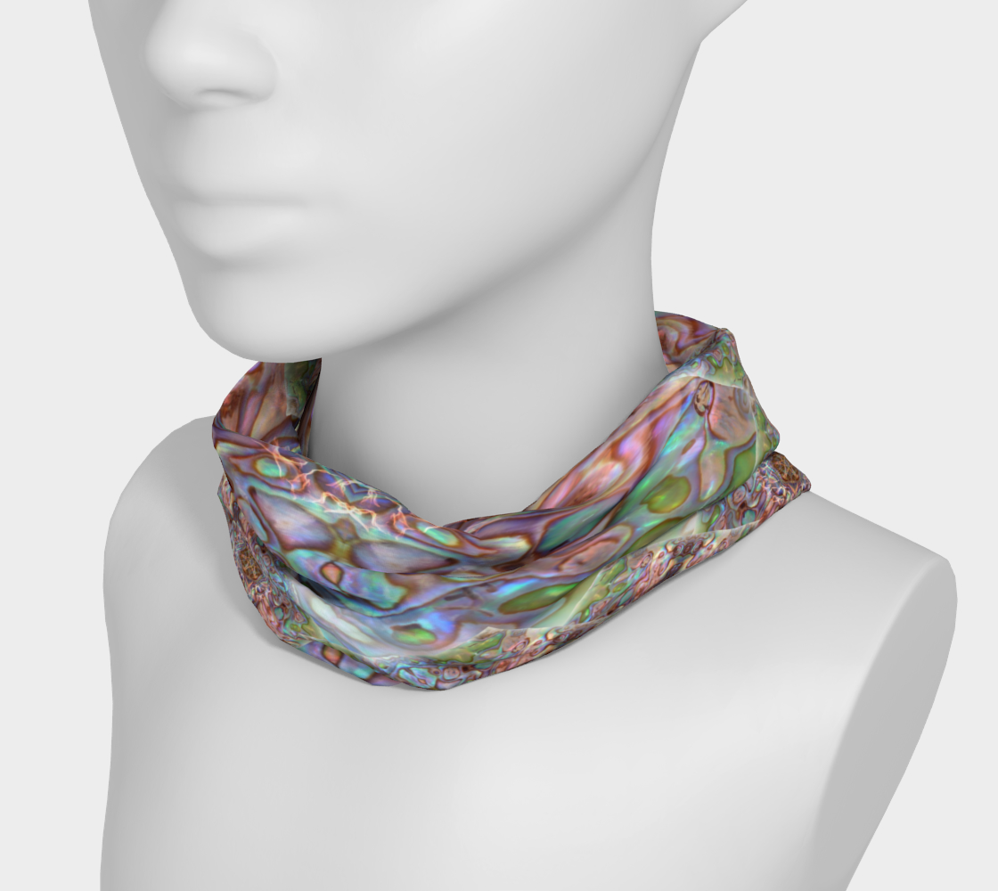 Sea Opal 5 Neckband and Face Covering preview #3
