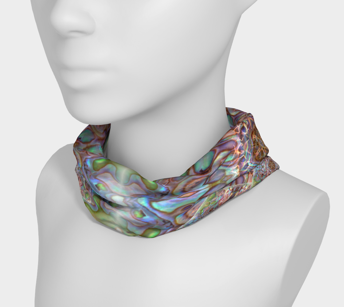 Sea Opal 6 Neckband and Face Covering preview #3