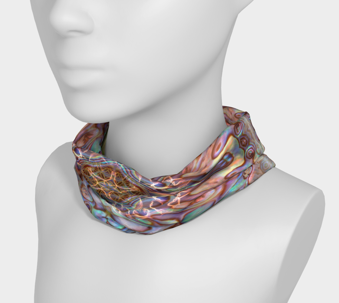 Sea Opal 7 Headband & Face Covering preview #3