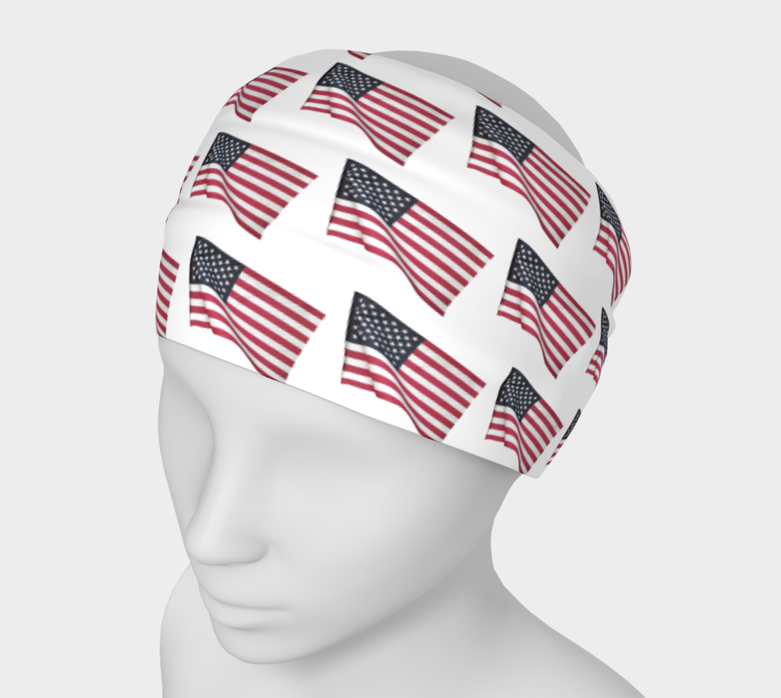 Flapping American Flags preview #1