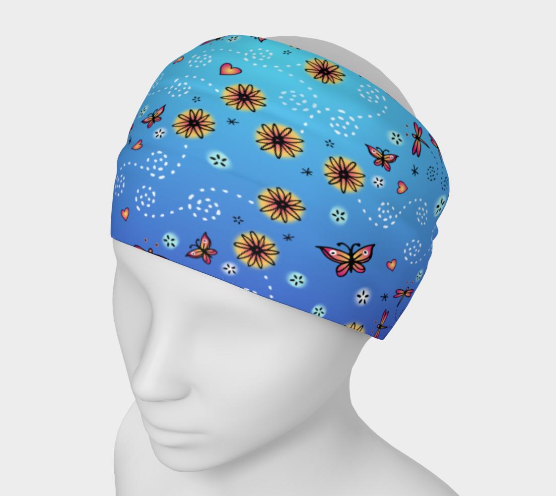 Garden Pattern Headband preview