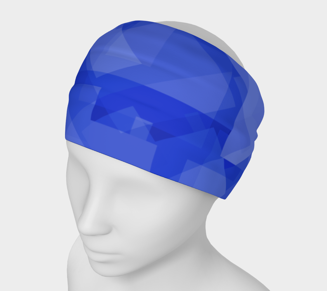 Blue is Better Headband preview
