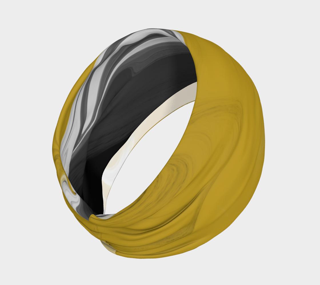 Liquid Black Gold Headband preview #2
