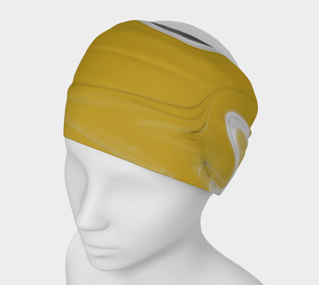 Liquid Black Gold Headband preview
