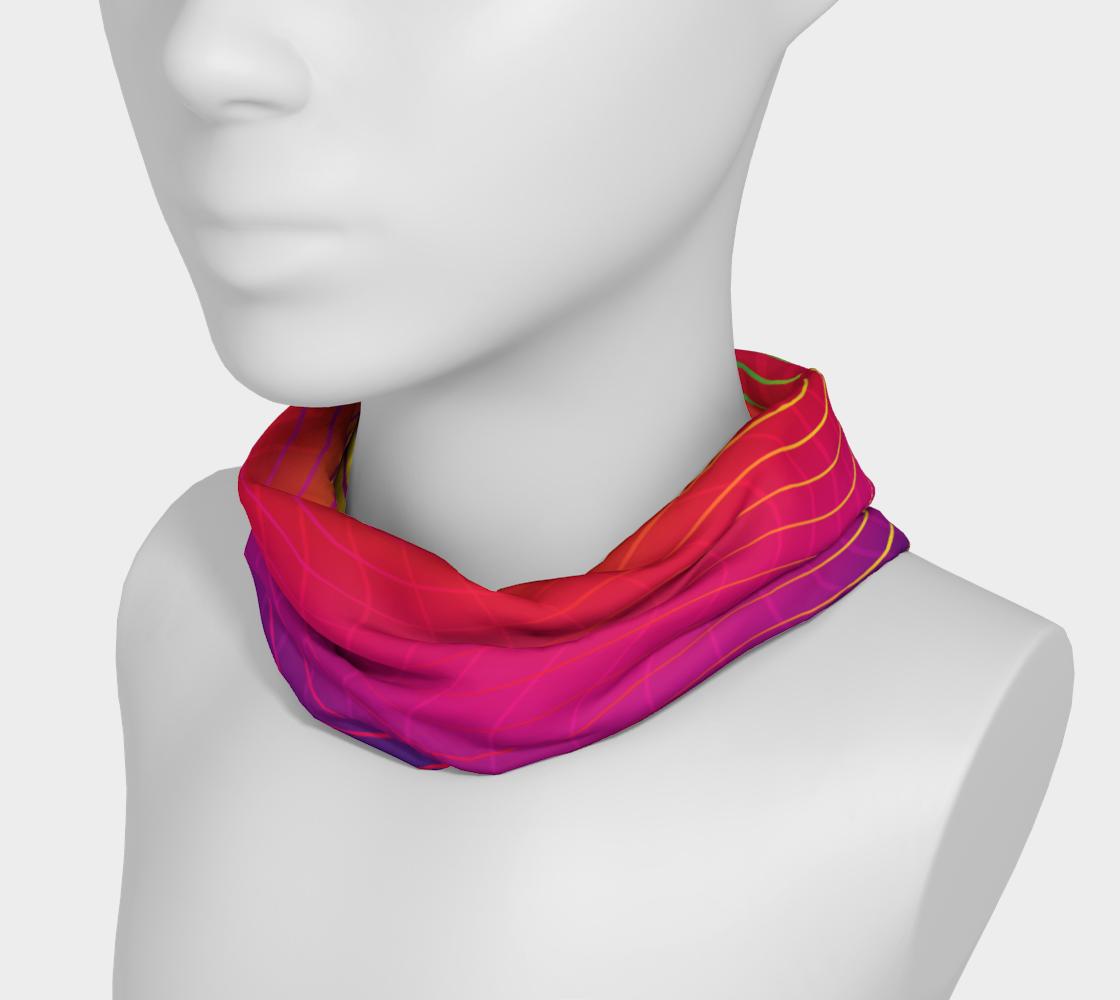 Rippled Rainbow Waves Headband preview #3