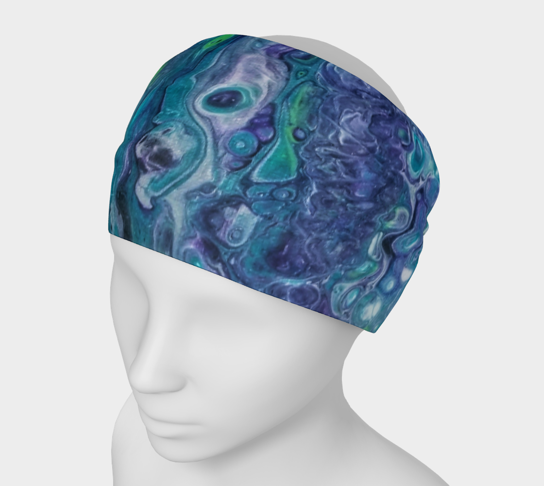 purple swirl headband preview