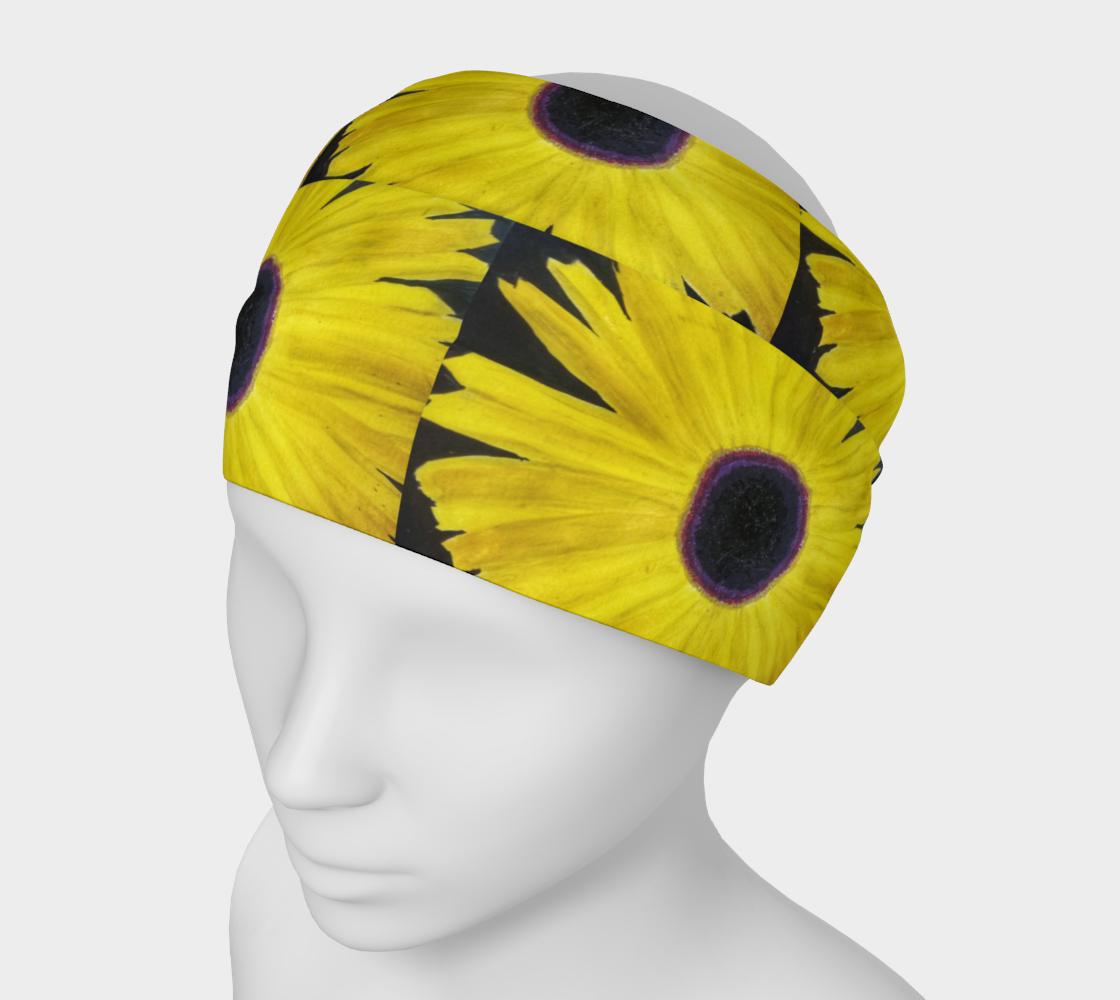 sunflower headband preview