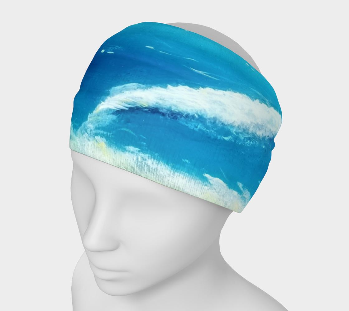 ocean wave headband preview
