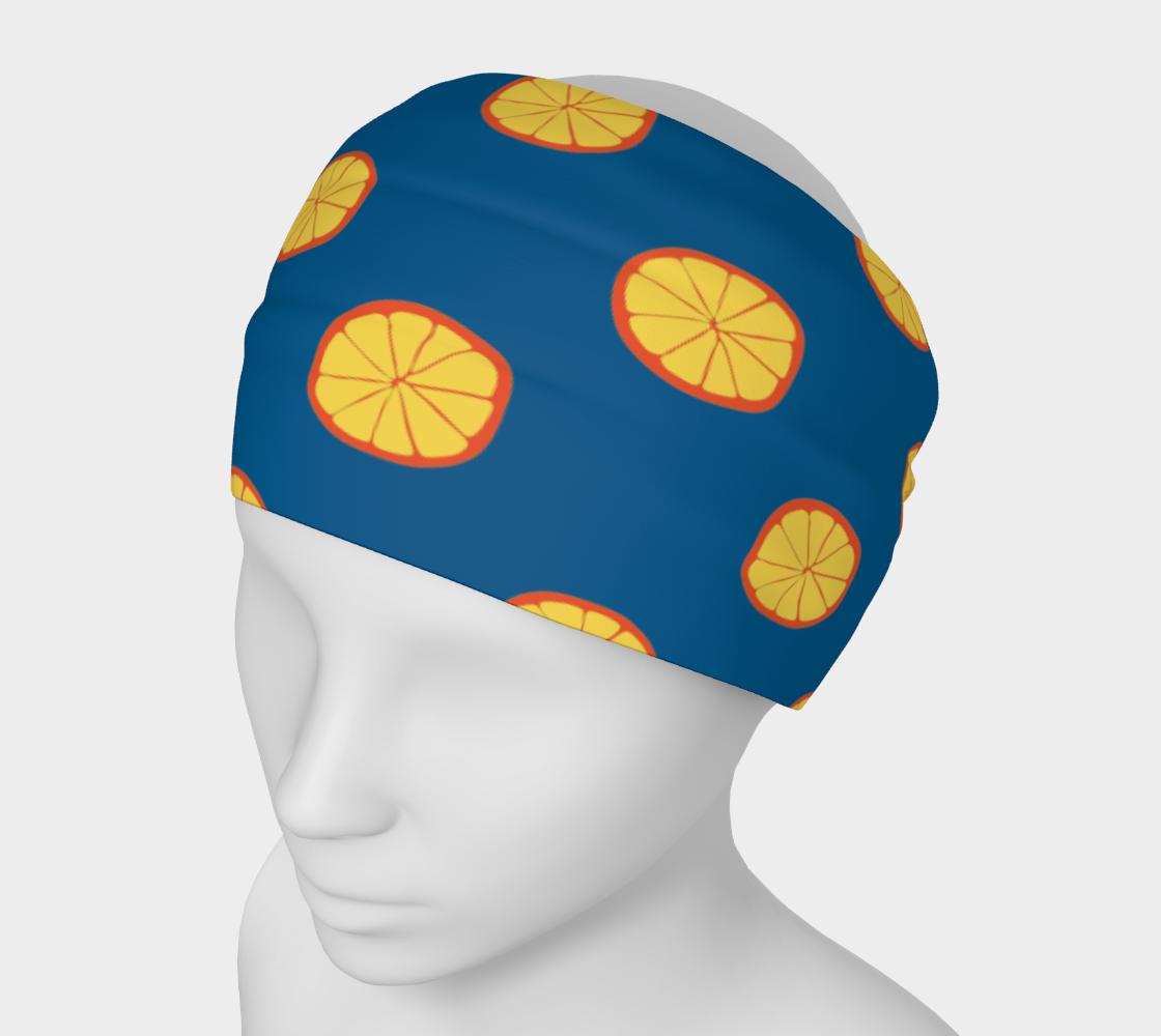Orange Slices on Blue preview