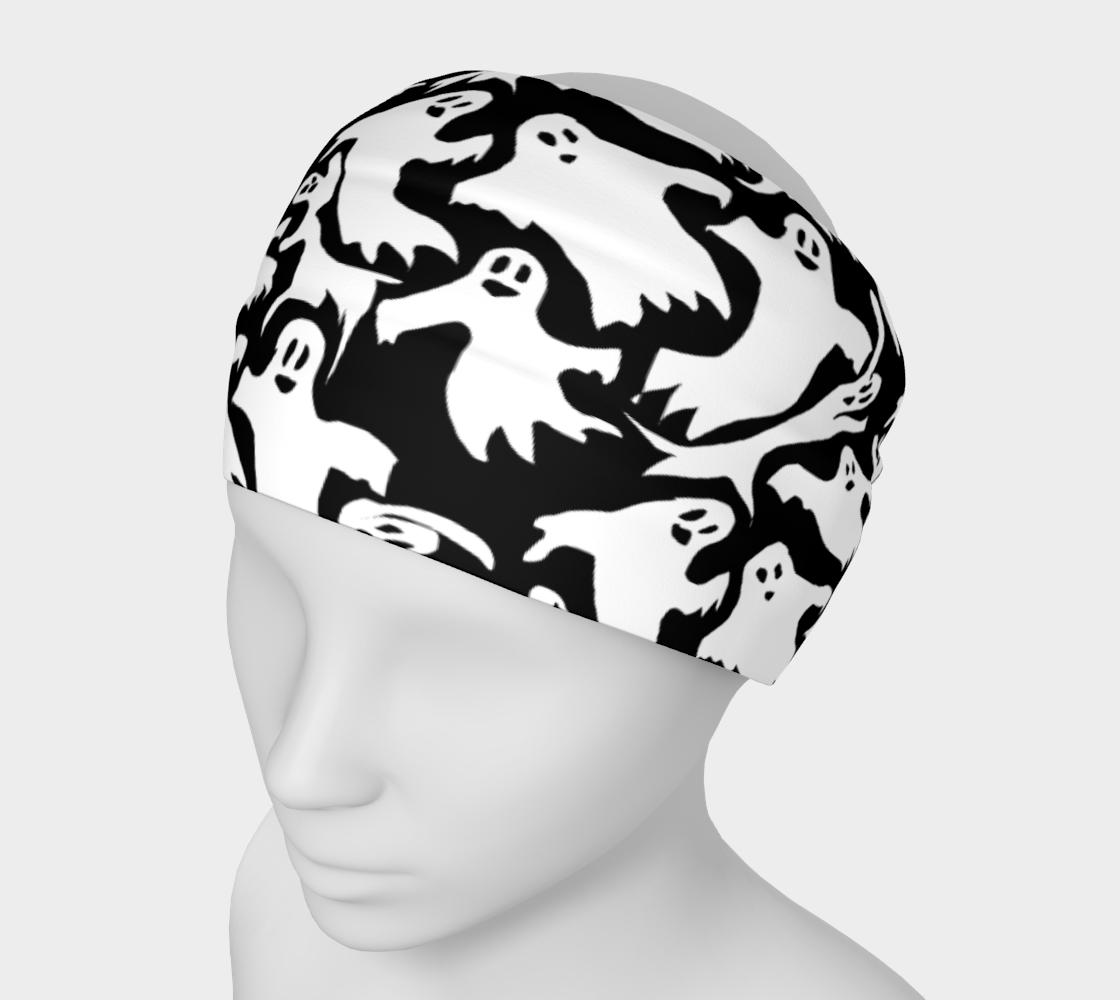 Aperçu de Ghosts Pattern Headband