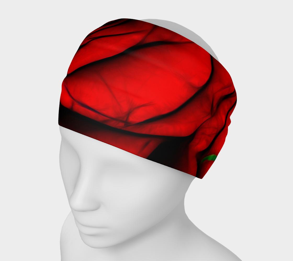 Aperçu de Reddest Rose Headband