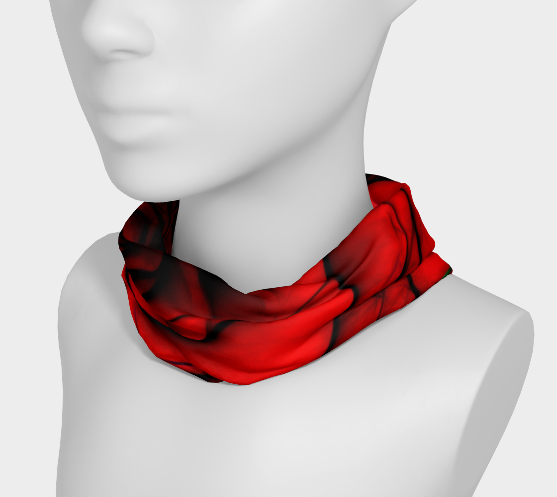 Aperçu de Reddest Rose Headband #3