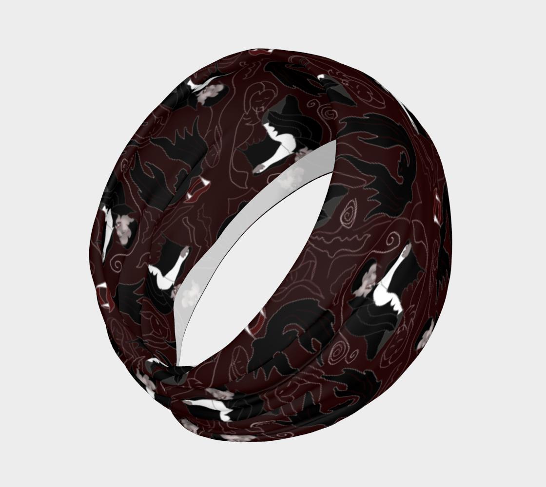 Aperçu de Vampire Pattern Headband #2