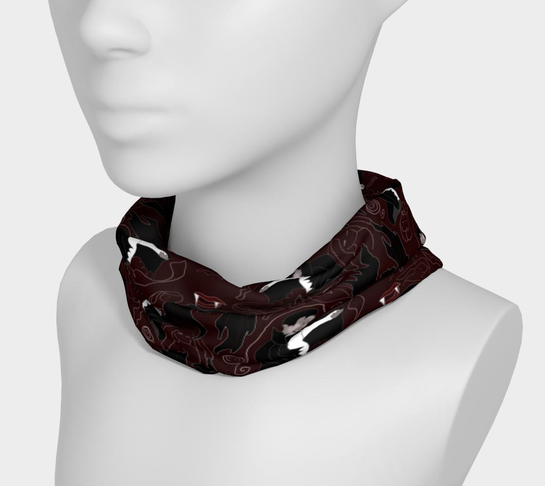 Aperçu de Vampire Pattern Headband #3