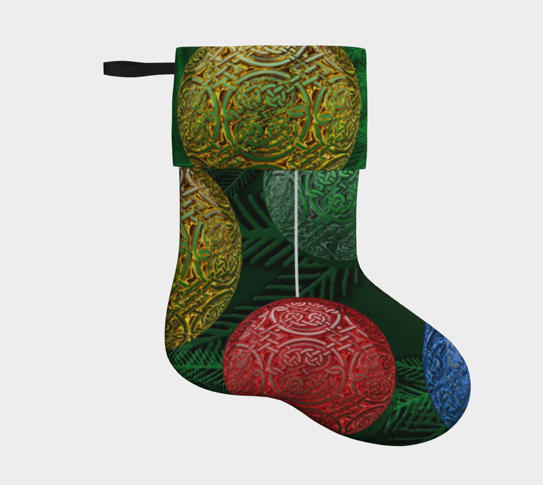 Aperçu de Celtic Ornament Holiday Stocking