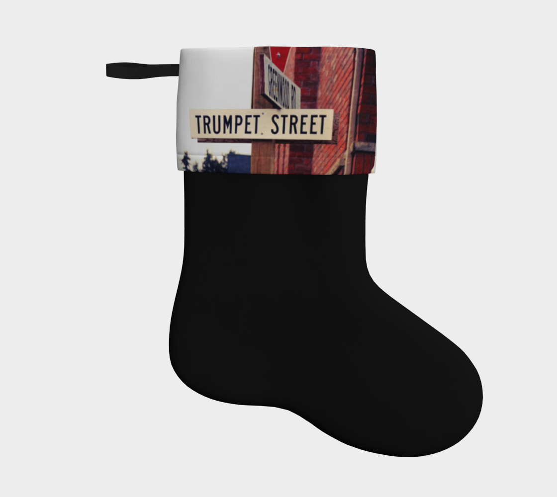 Trumpet Street Holiday stocking  preview