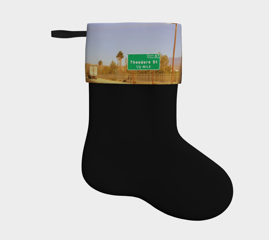 Theodore Holiday stocking  preview
