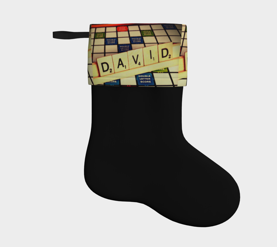 David Holiday Stocking  preview