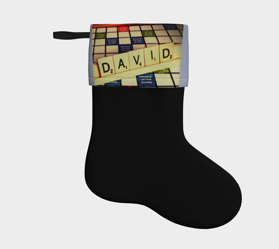 David Holiday Stocking 2 preview