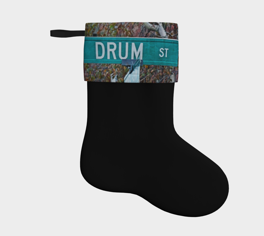 Drum Holiday Stocking 2 preview