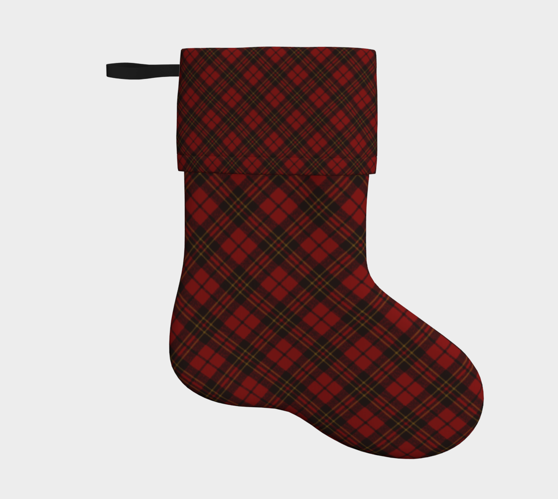 Red tartan plaid winter Christmas pattern preview