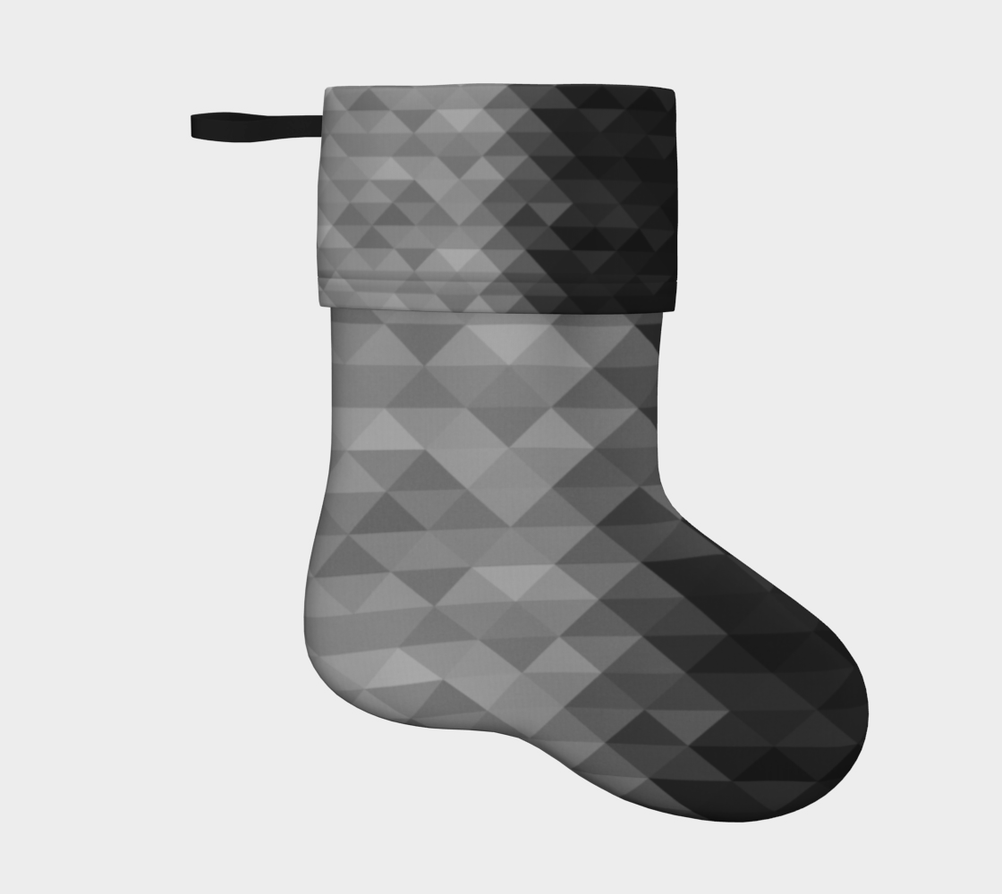 Grayscale triangle geometric squares pattern preview