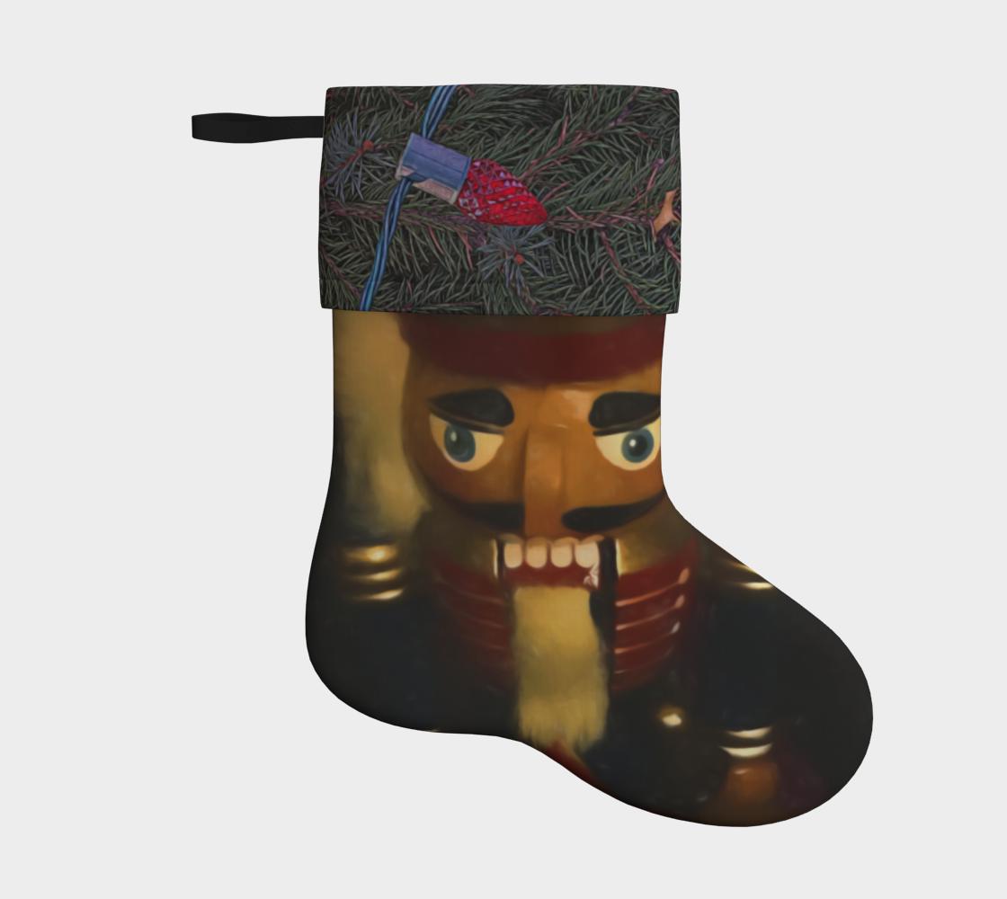 Aperçu de Nutcracker Holiday Stocking