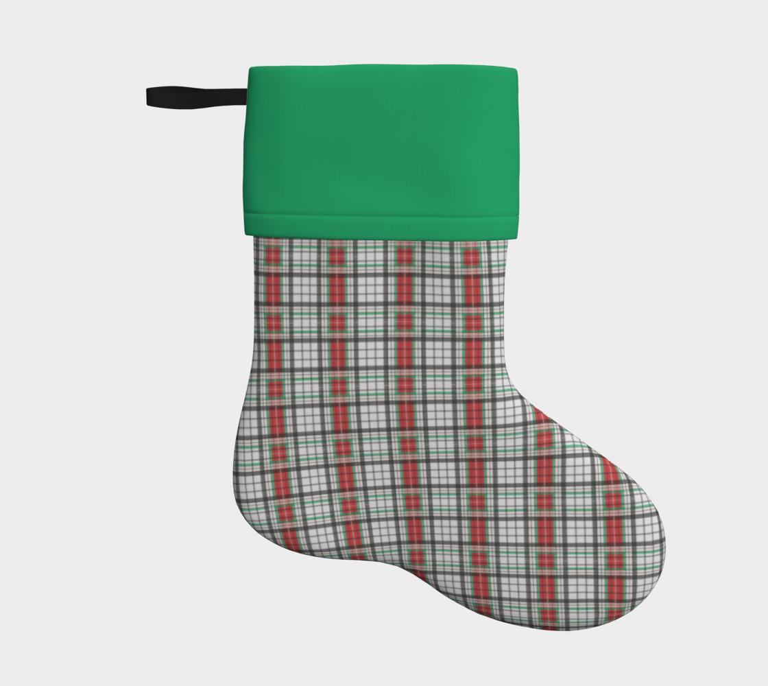 Aperçu de Classic Plaid Stocking