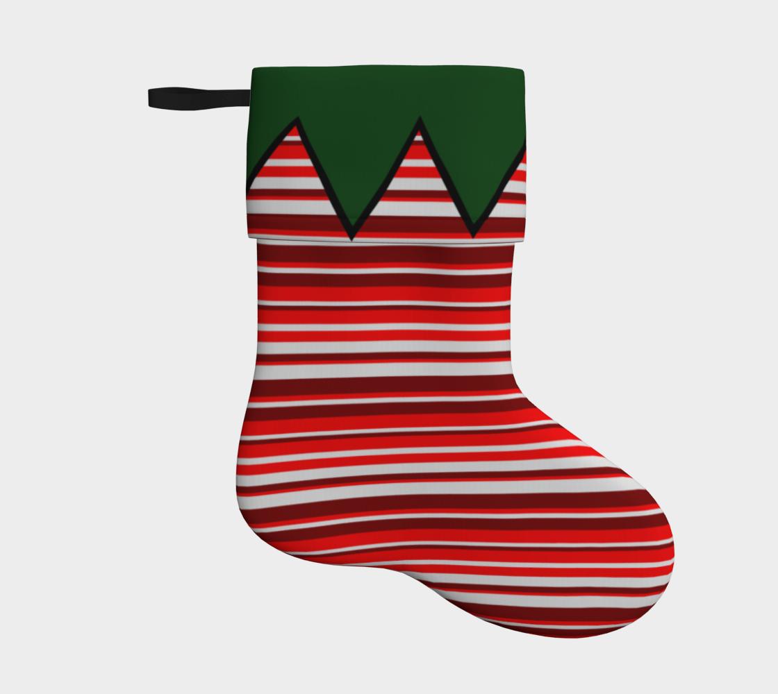 Aperçu de Elf Feet Stocking