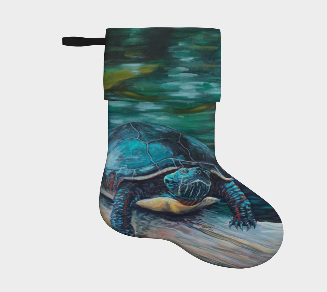 Painted Turtle Stocking preview