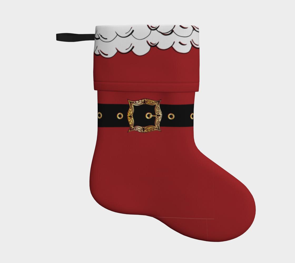 Aperçu de Santa Suit Stocking