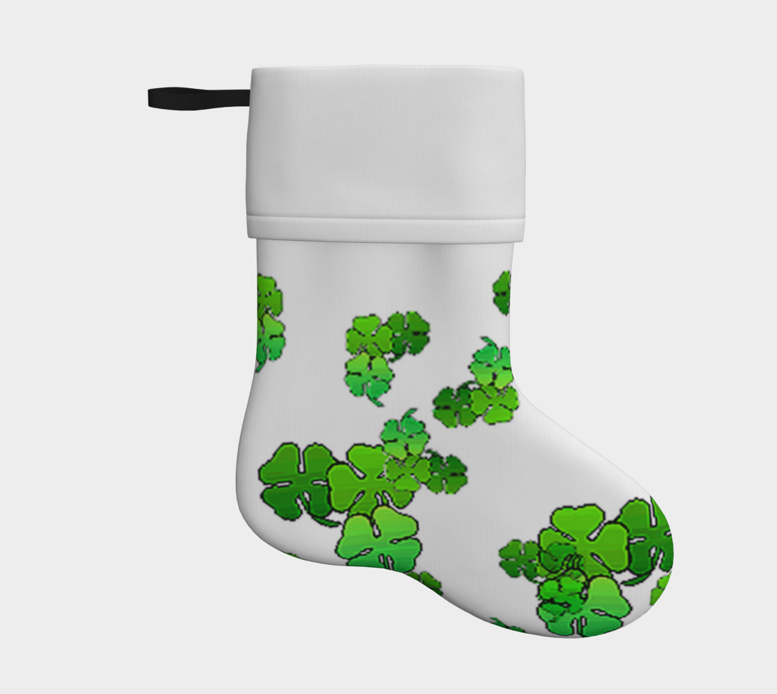 clovers holiday christmas stocking preview