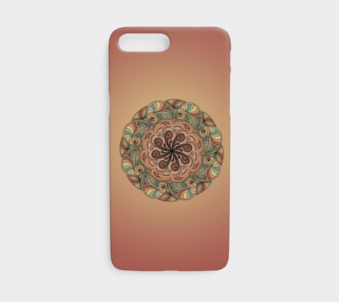 Moroccan Shells Mandala - iPhone 7/8 preview