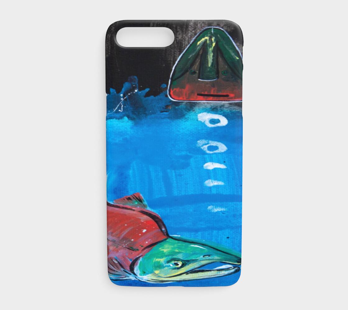 Salmon Season iPhone ⅞ Plus preview