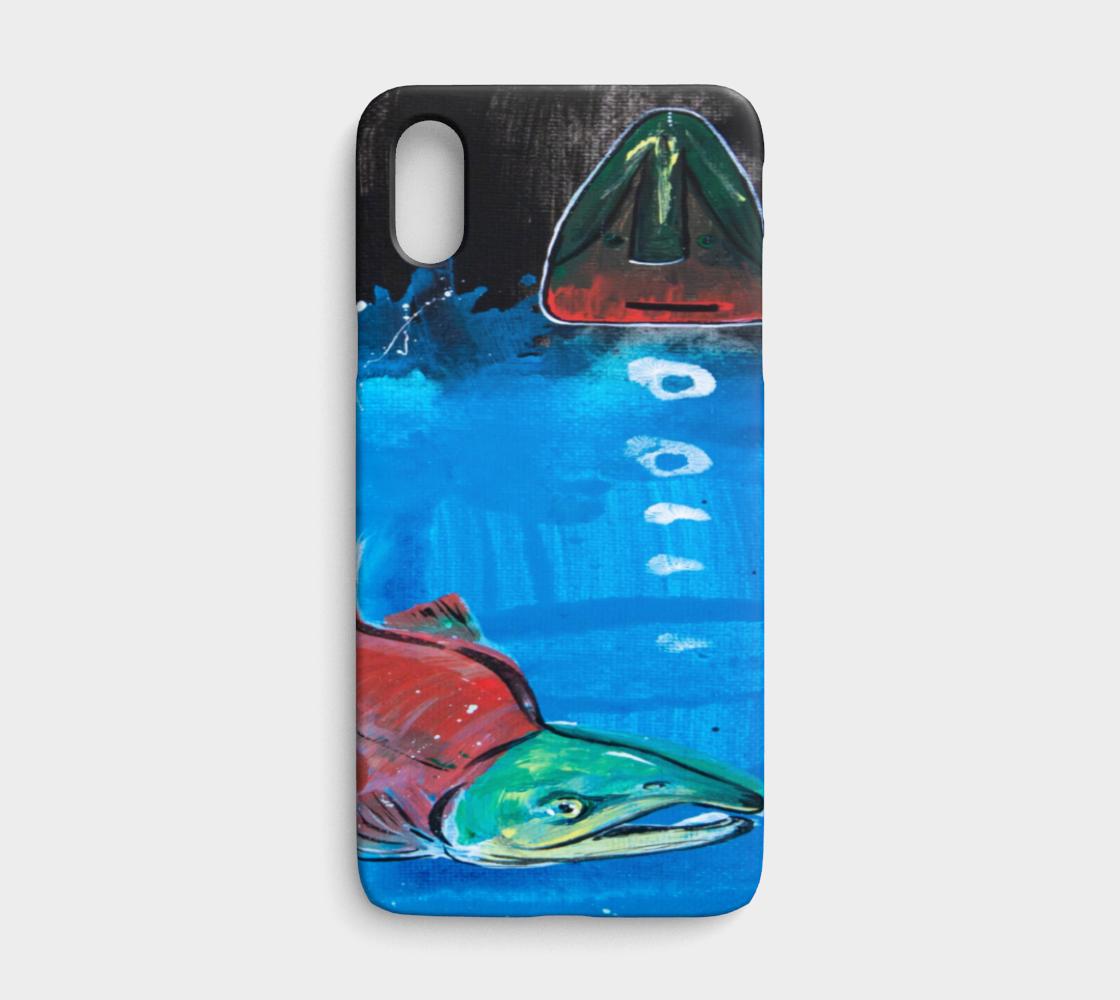 Salmon Season iPhone X/XS preview