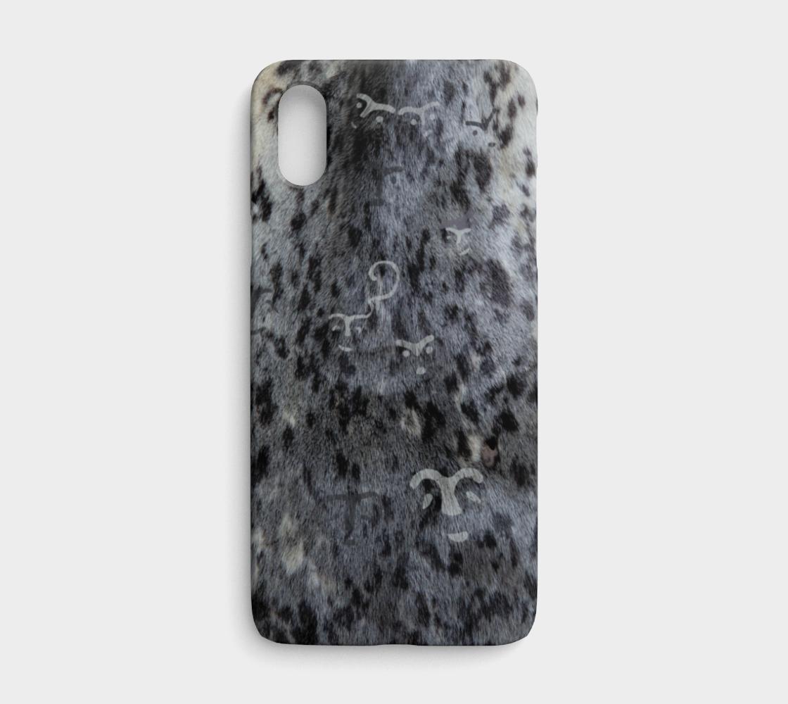 Seal Fur/Petroglyph iPhone X/XS preview