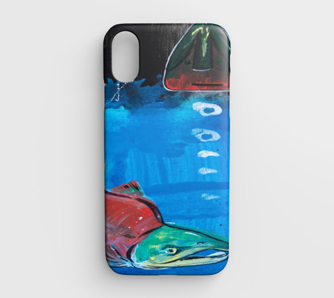 Salmon Season iPhone XR preview