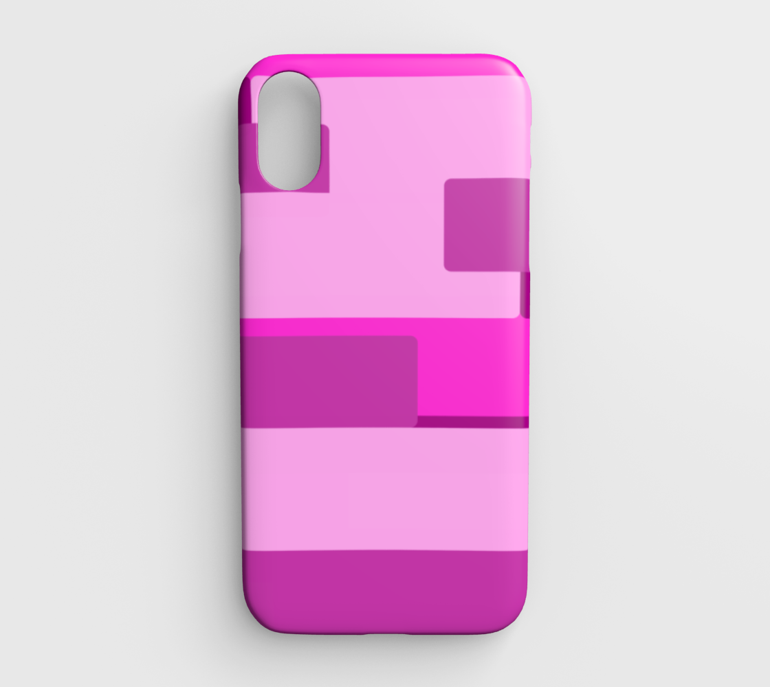 Pink Abstract  IPhone XR Case preview