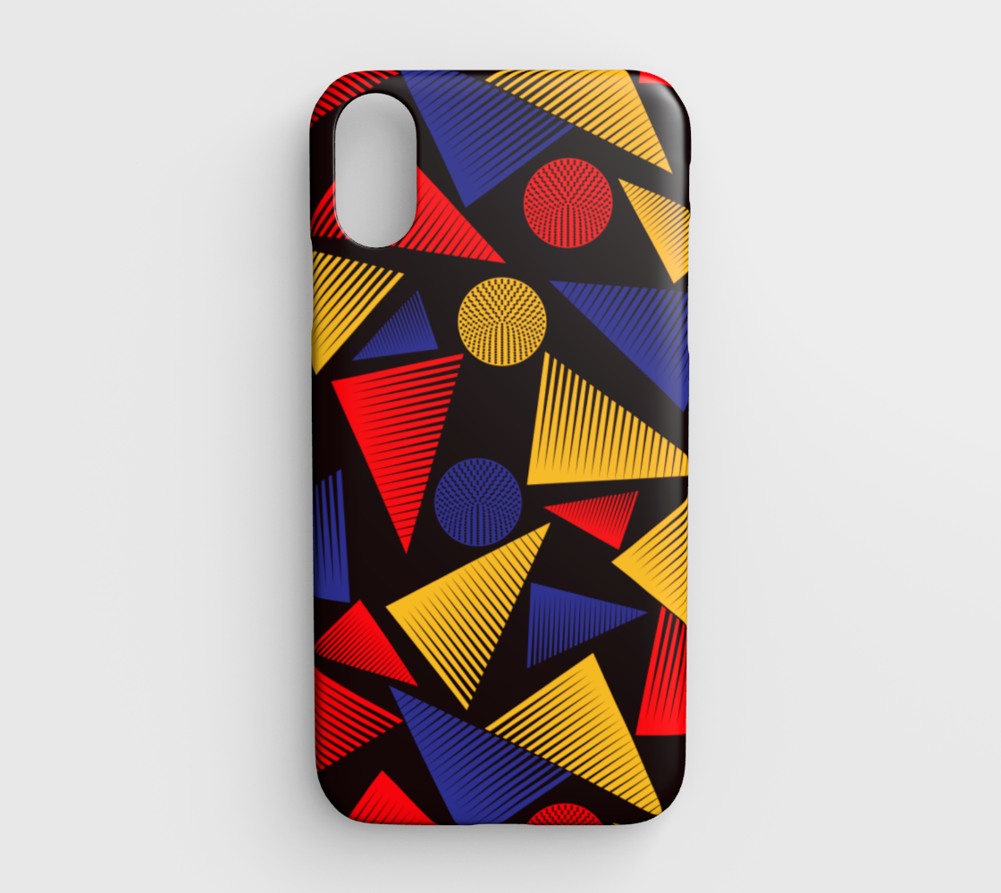 colorful trendy triangle preview