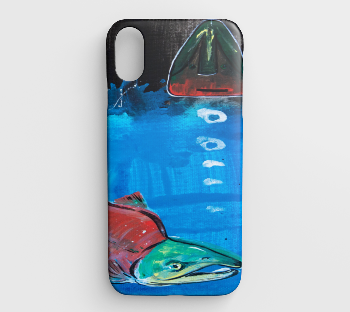 Salmon Season iPhone XS Max preview