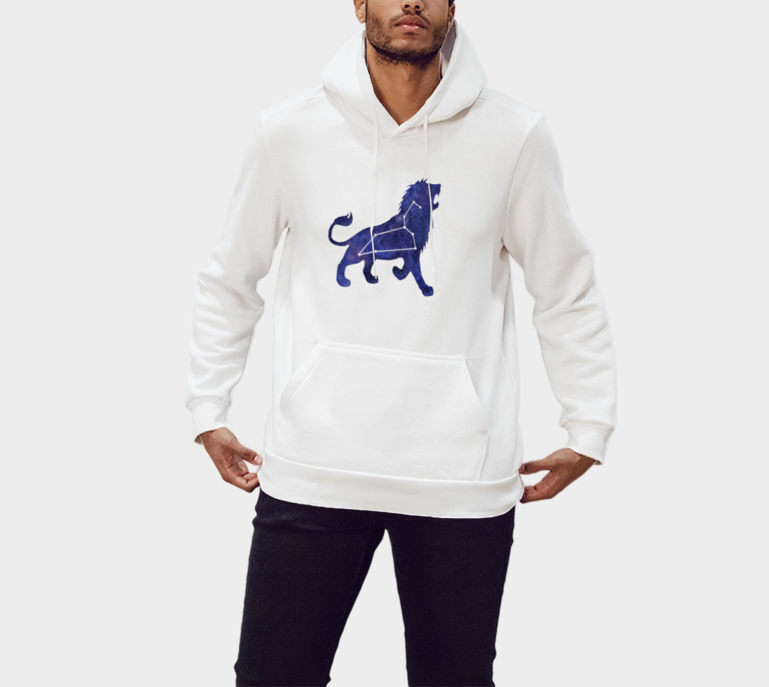 Astrological sign Leo constellation Pullover Hoodie preview