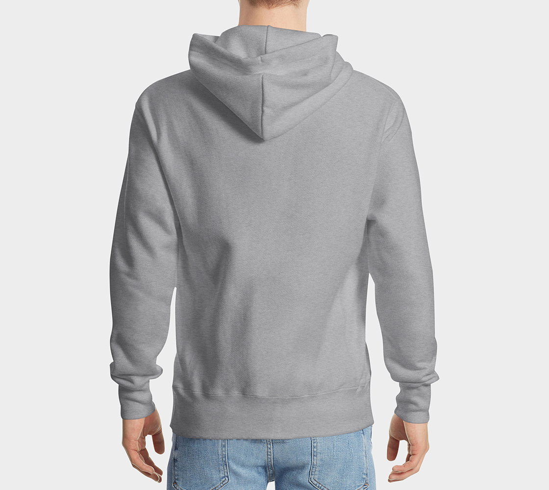 Raven Hoodie Light Gray preview #2