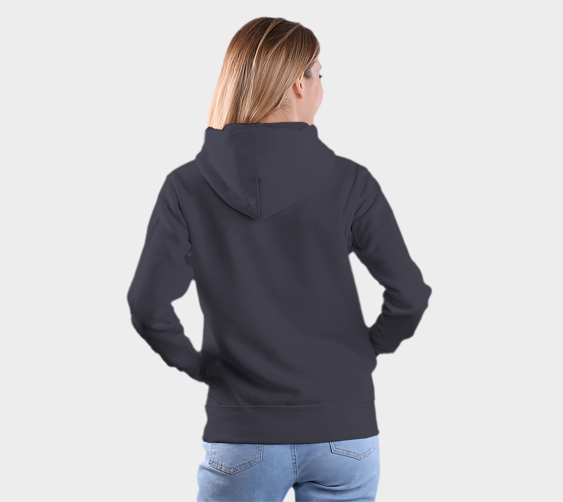 Raven Hoodie Blue preview #5