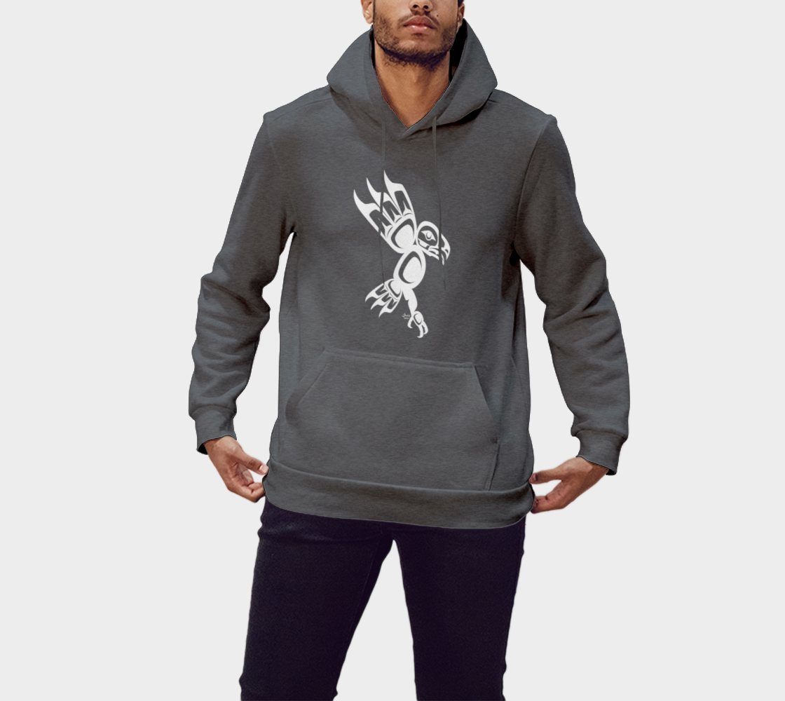 Eagle Hoodie Gray preview #1