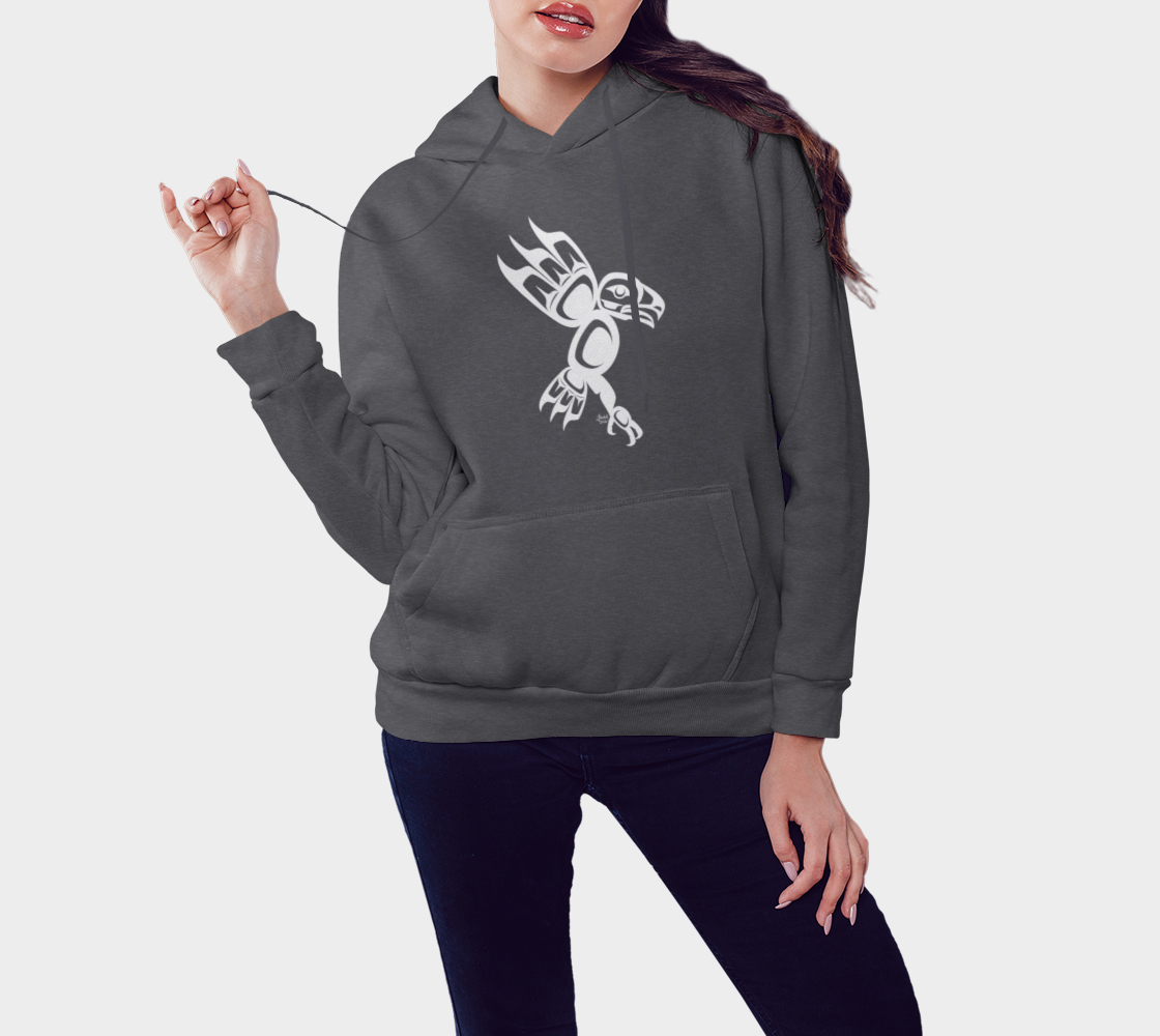 Eagle Hoodie Gray preview #3