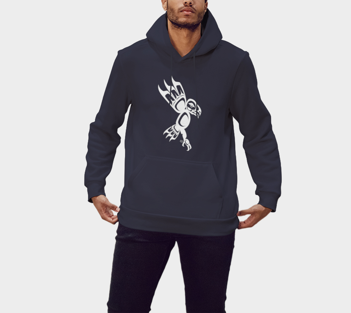 Eagle Hoodie Blue preview #1