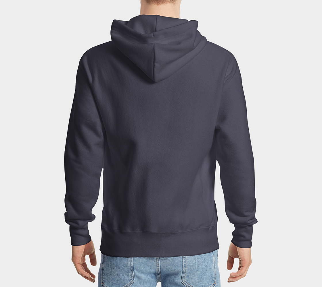 Eagle Hoodie Blue preview #2